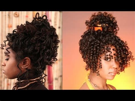 flexirods set transitioning hair natural hair transition styles coil spiral curls flexi
