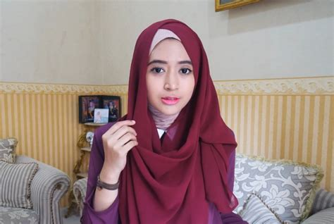 tutorial hijab pashmina natasha farani simple gamabar hijab tutorial pashmina simple persegi panjang