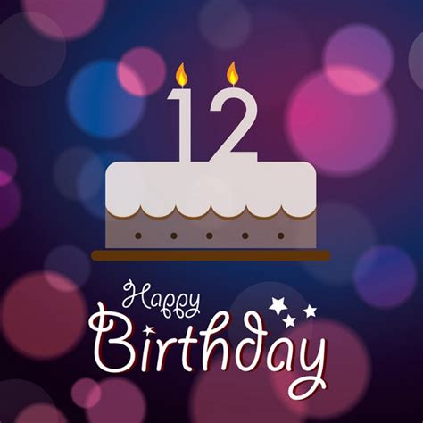 12 wishes of happy birthday wishes for 12th boy or