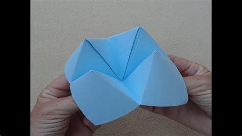 como hacer un pico con papel origami fortune teller comecocos sacapiojos juego