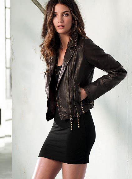Rok Fashionable Sussan Brown Mini Skirt motorcycle leather jacket for trend vogue