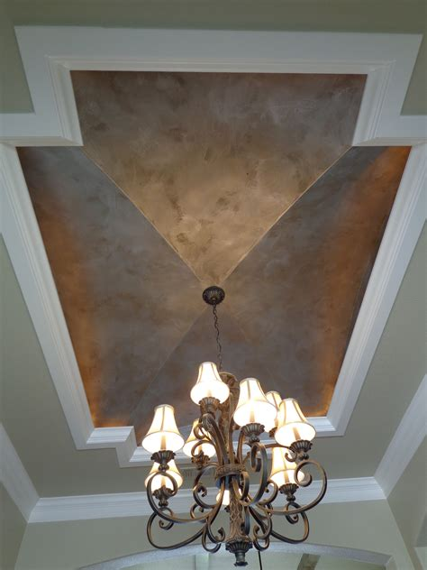 Modern Masters Silver Metallic Paint Ceiling By Peter Ceiling Paint Finish