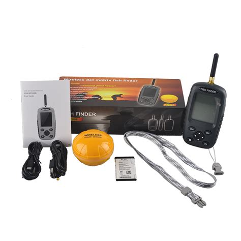 Russian Finder Pisfun Ff998 Fish Finder Russian And Version Wireless Sonar Portable Waterpoof