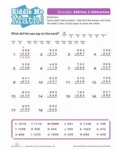 math riddles solve the equation worksheet education com