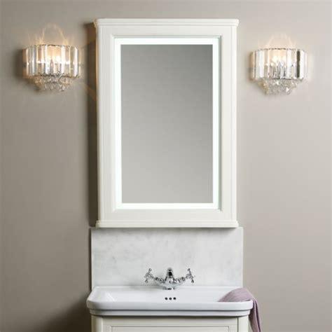 laura aluminium backlit mirrored bathroom cabinet illuminated mirrors cabinets langham illuminated mirror laura ashley bathroom collection