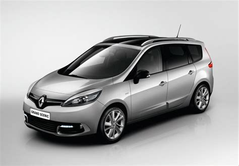 renault grand scenic 2014 renault introduces megane scenic limited editions
