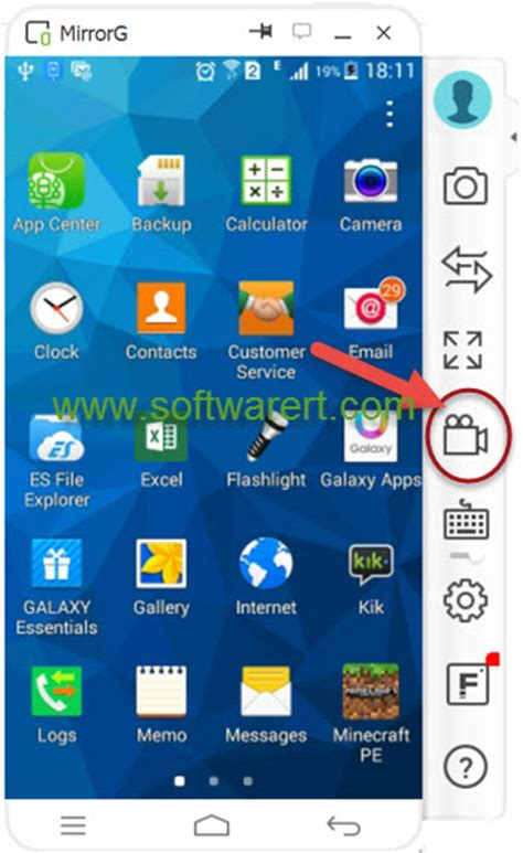 record screen of samsung mobile phone - How To Record On Android