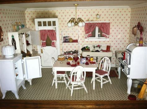 j hermes dollhouse wallpaper 225 best the miniature kitchen images on