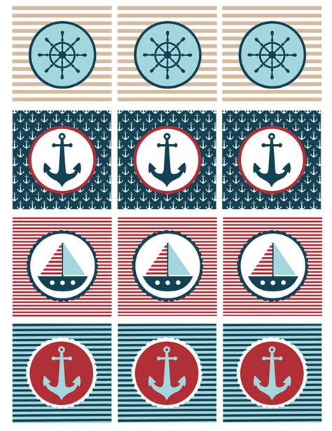Free Printable Nautical Baby Shower by Nautical Baby Shower Printables My S Suitcase