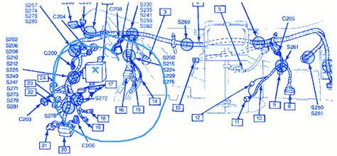 chevy geo tracker   driver side electrical circuit wiring diagram carfusebox