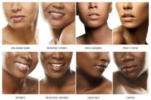 describing skin color black opal has a solution for all shades of brown skin