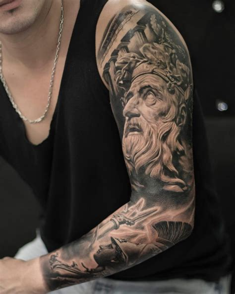 greek god tattoo 85 ancient god mythology tattoos symbols