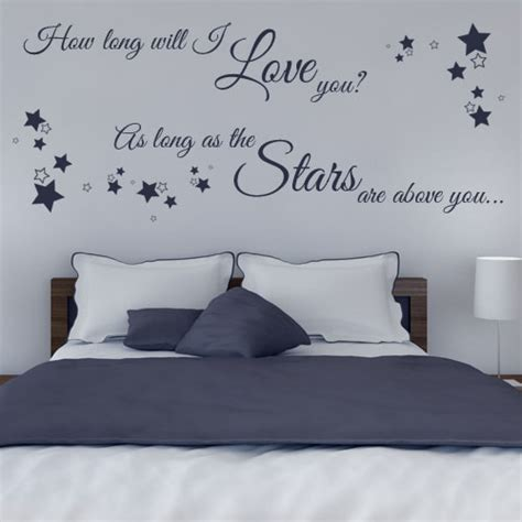 Sticker Wallpaper I Loved You how will i you wall sticker decals