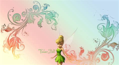 Tinkerbell Iphone All Hp 1 Tinkerbell Gradient Desktop Background By Fireforkx On