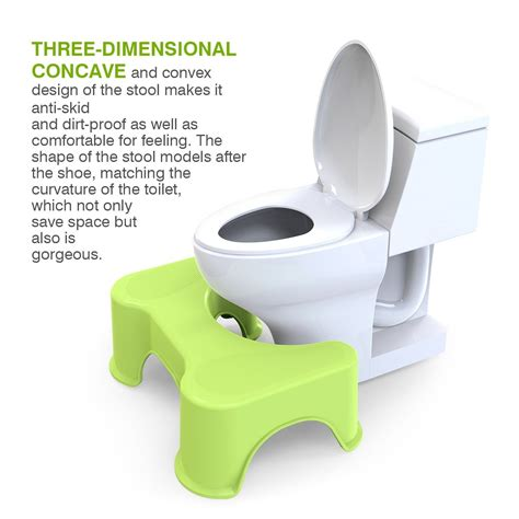 toilet squat stool nz houseasy ergonomic family squat toilet stool set 1 x white