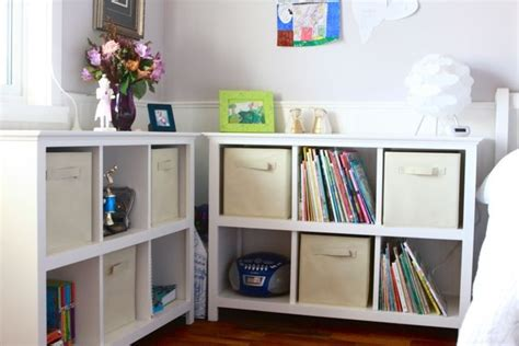 diy cube bookcase with trim