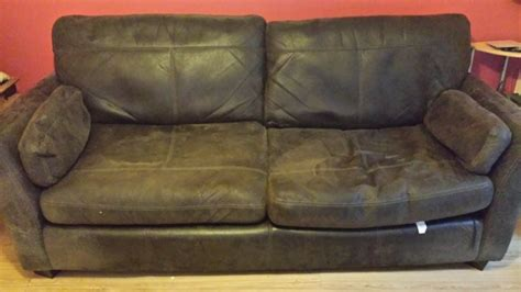 brown suede couch brown suede couch for sale in bray wicklow from revitup84