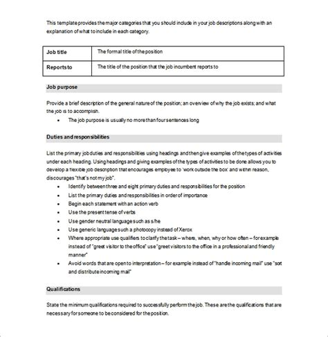 description template pdf description template tryprodermagenix org