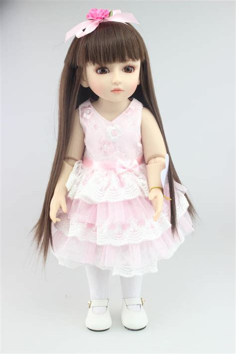 Boneka Princess 45cm New Vinyl Sd Bjd Joint Doll Boneka â 45cm high quality reborn dolls â baby baby sd bjd à ê