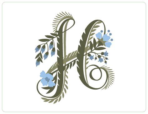 #FlowerShop #Anthropologie | Floral Fantasy | Pinterest ... H Alphabet Designs