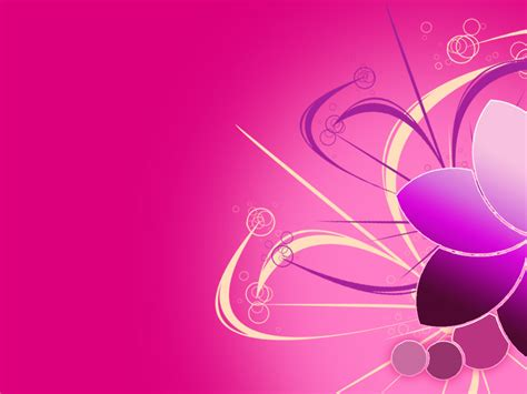 beautiful templates beautiful pink flower power point backgrounds beautiful