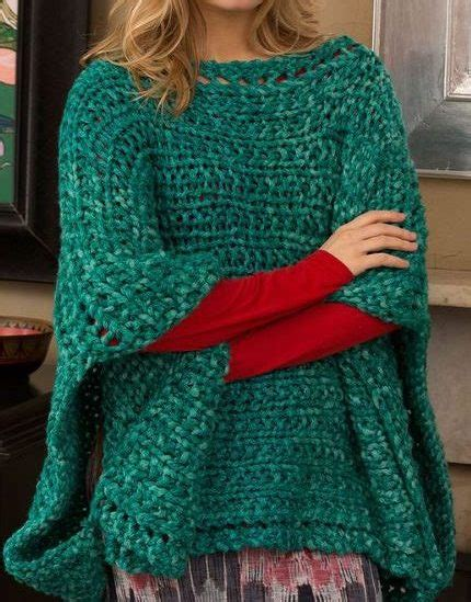 knitting a poncho for beginners beginner knitting patterns in the loop knitting