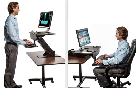 Standing Sitting Desks Adjustable Adjustable Standing Adjustable Desks For Standing Or Sitting