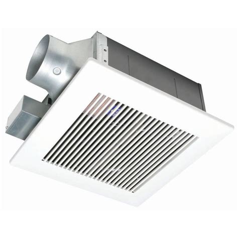 bathroom vent cfm whisperfit 80 cfm ceiling low profile exhaust bath fan