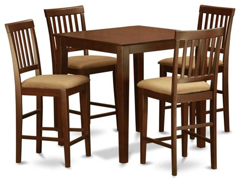 traditional kitchen table sets 5 counter height table set table and 4 kitchen