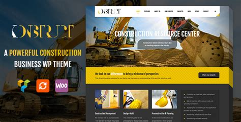 theme forest template construction building theme konstruct by