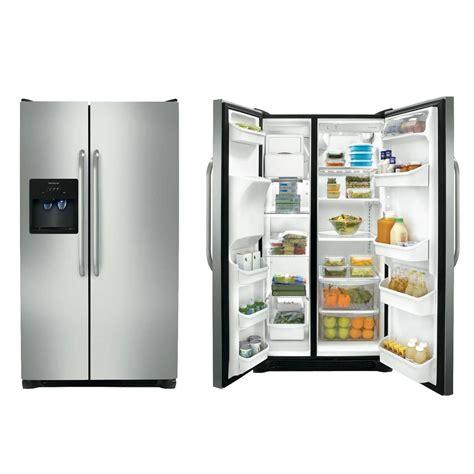 frigidaire side  side refrigerator cbf silver