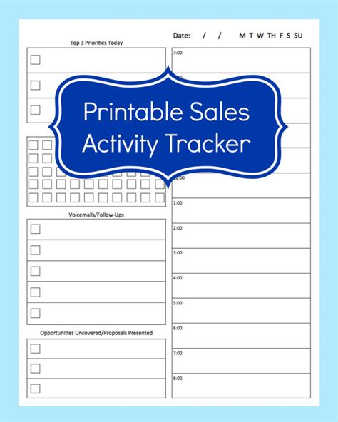 insurance tracking log sales activity tracker daily planner cold call tracker