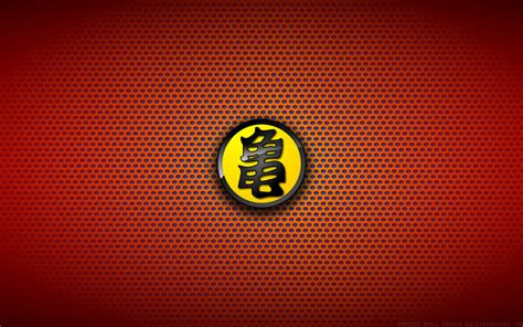 dragon ball logo wallpaper wallaper dragon ball turtle logo yellow by