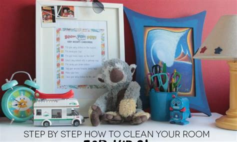 How To Clean Room Step By Step by Step By Step How To Clean Your Room For Kidspot