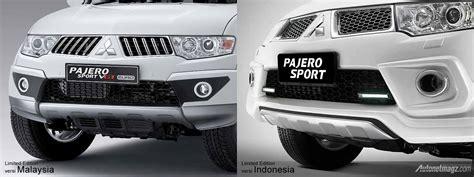 mitsubishi pajero malaysia mitsubishi pajero sport limited edition versi indonesia vs