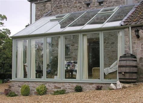 galleries completed lean  conservatories hardwood