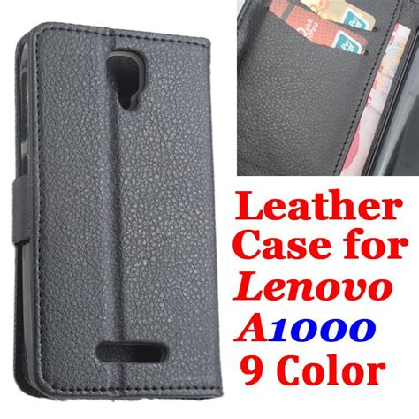 Casing Lenovo A1000 Brand Litchi Grain For Lenovo A1000 Luxury Leather