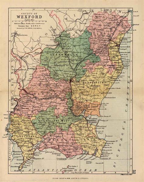 map of wexford wexford genealogy