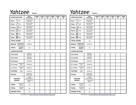 printable triple yahtzee score sheets pdf blank yahtzee score sheet printable search results