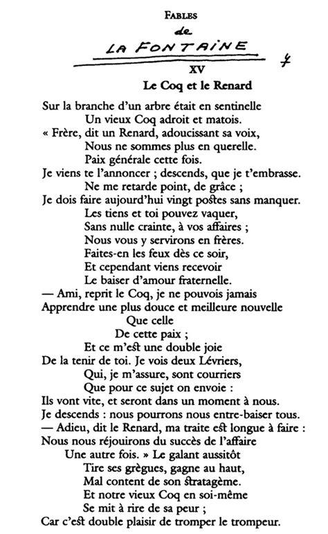 Séquence 7 : Fables, fabliaux et farces - Le Français en 6