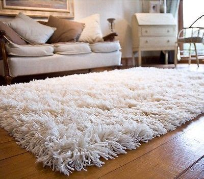 How To Clean Wool Carpet Rugs by Woolen Shag Shaggy Area Rug Carpet 4 X 6 Soft
