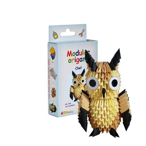 Modular Origami Owl - 3d origami modular