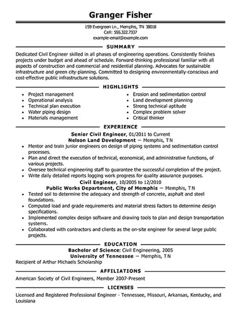 exle of resumes 2 resume cv