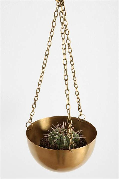 Hanging Brass Planter by Hanging Brass Planter I Outfitters