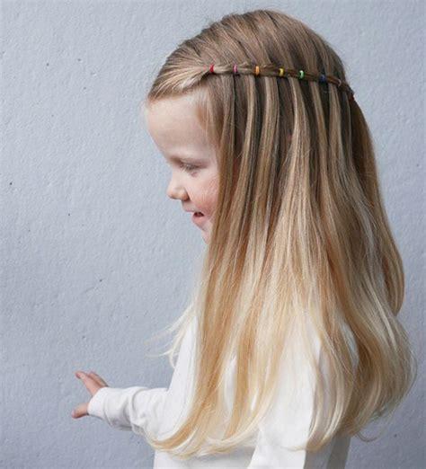 como hacer peinados de trenzas para ninas peinados de ni 241 a con ligas tendencia infantil en peinados