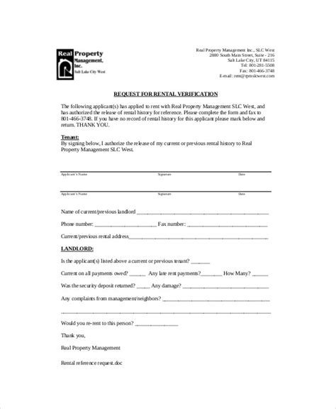 Rent Request Letter sle landlord recommendation letter 7 exles in
