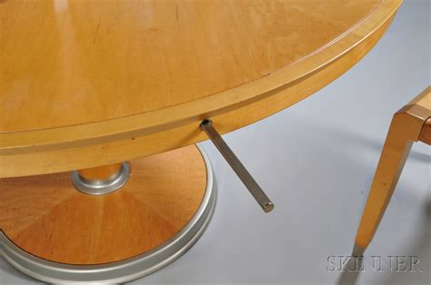 Aro Dining Table Ching Wing Lo For Giorgetti Dining Table And Four Aro Chairs Sale Number 2912m Lot Number 530