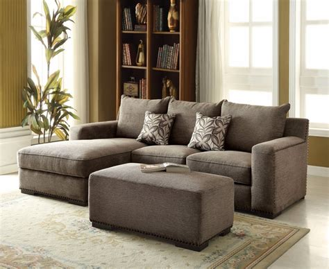 gray sofa with nailhead trim gray chenille sectional sofa nailhead trim sectional