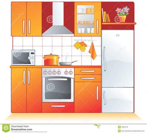 Kitchen Fittings, Appliances Royalty Free Stock Photos