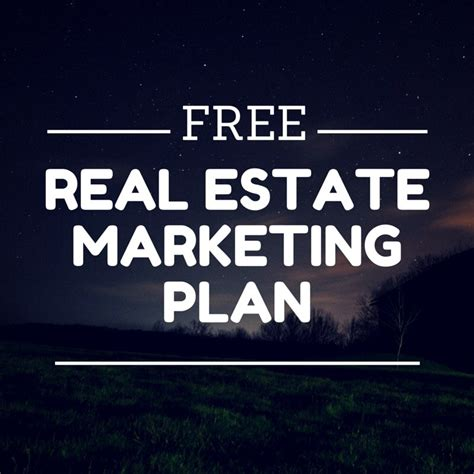 free real estate marketing templates business plan template for realtors